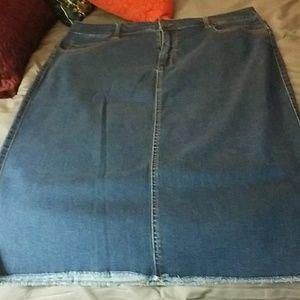 size 3x pencil skirt